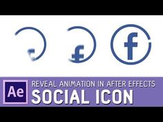 Social icon animation in After Effects ✔ - YouTube