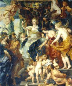 Pierre-Paul Rubens - Félicité de la régence de Marie de Médicis, reine de France et de Navarre