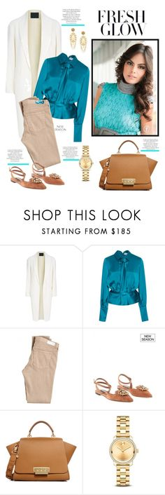 """""""Untitled #2281"""" by ladydelicat ❤ liked on Polyvore featuring Alexander Wang, Carolina Herrera, AG Adriano Goldschmied, Dolce&Gabbana, ZAC Zac Posen, Movado and Magdalena"""