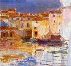 The Port of Martigues  - Pierre Auguste Renoir - 1888