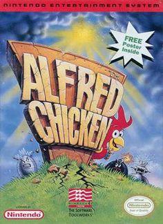 NES Games - Alfred Chicken