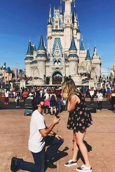 Best Ideas For Unforgettable And Romantic Marriage Proposal ❤ See more: http://www.weddingforward.com/marriage-proposal/ #weddings