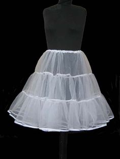 white petticoat | WHITE/IVORY 1950'S PETTICOAT/CRINOLINE/UNDERSKIRT ROCK N ROLL TUTU