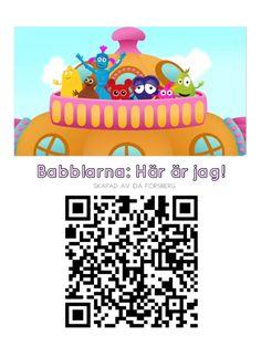 QR koder Babblarna Diy And Crafts, Kindergarten, Preschool, Language, Education, Matte, Google, Creative, Pictures