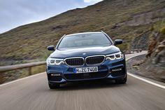 La massima espressione della tecnologia BMW, su strada. Nuova Serie 5 Touring,