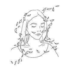 Outline Art, Outline Drawings, Pencil Art Drawings, Cool Art Drawings, Art Drawings Sketches, Easy Drawings, Couple Drawings, Minimalist Drawing, Minimalist Art
