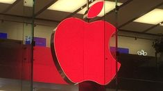 Apple Logo Goes Red as Part of World AIDS Day