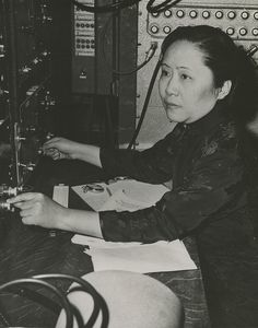 """In 1963, Chien-shiung Wu (1912-1997), professor of physics at Columbia University, was already considered one of the world's foremost experimental physicists. Her team's experiments had confirmed the theory of sub-atomic behavior known as """"weak interaction"""