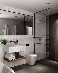 50 elegant modern bathroom design ideas (10)