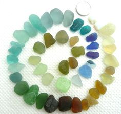 Less than perfect but very pretty sea glass