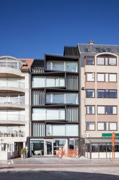 visserskaai | oostende - Projects - CAAN Architecten / Gent