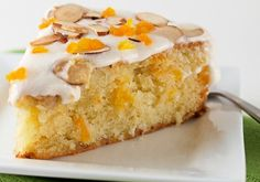 Apricot and Almond Cake Recipe Dried Apricot Cake, Apricot Almond Cake, almond cake with rosewater and cardamom recipe BBC Food. Food Cakes, Cupcake Cakes, Cupcakes, Cake Recipes, Dessert Recipes, Desserts, Flour Recipes, Baking Recipes, Chocolate Chip Pound Cake