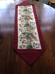10 Minute Table Runner Tutorial Quilts Pinterest