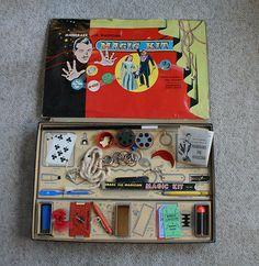 Old Vintage 1957 Mandrake Magician Magic Tricks Kit 1625 Toys Games Box King FE   eBay