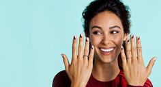 This Geometric Mani Is The Next Big Thing In Nail Art  #refinery29