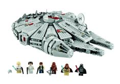 Straight from the Death Star escape scene of Episode IV: A New Hope, the LEGO Millennium Falcon features stunning details. A great Star Wars Lego set! Lego Star Wars, Star Wars Set, Theme Star Wars, Star Wars Toys, Star Trek, Millennium Falcon, Chewbacca, Teddy Ruxpin, Star Destroyer