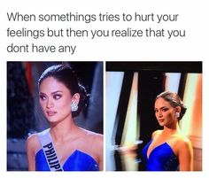 ohhhhhh! i feel so sad for Miss Phillipines since that dumb announcer said that she was Miss Universe but she wasn't and that would have been so embarrassing. You should search that up on youtube. Its funny but sad...:(