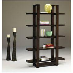 Hammary Capella Bookcase in Brown