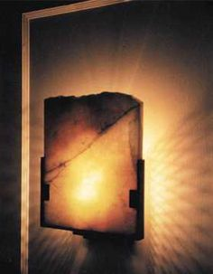 Onyx Wall Sconce   I Like This But Would Need Something Offering More LIGHT