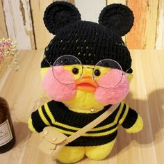 Aesthetic Themes, Aesthetic Grunge, Cute Stuffed Animals, Cute Animals, One Duck, Baby Icon, Duck Toy, Yellow Theme, Teddy Toys
