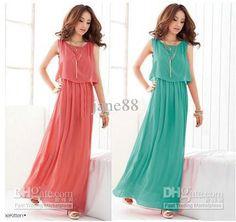 Maxi Long Dress... Amo este vestido!!!