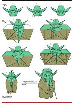 종이 요다 접는 법 5