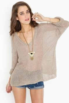 Maddy Oversized Knit in Clothes at Nasty Gal