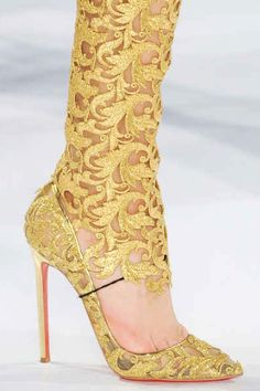 Christian Louboutin for Vauthier