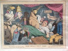 Seymour - John Bull's Night Mare - c.1828