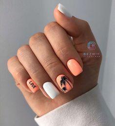 Stylish Nails, Summer Nails, Nail Colors, Manicure, Nail Designs, Make Up, Ely, Toe Nails, Beauty