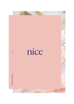 lu's book of positive words on behance.