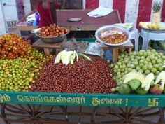 Chennai, India. Street food