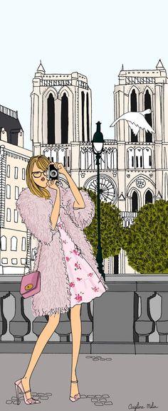 Angeline Melin, Do it in Paris Notre-Dame de Paris