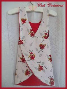 Tags : couture facile, mode enfant, mode fillette, tablier croisé, tenue été, tuto débardeur, tuto tablier