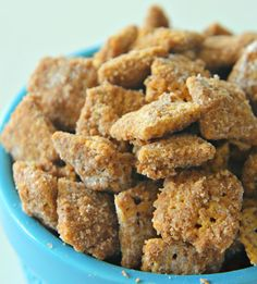 Cinnamon Churro Chex Mix | Six Sisters' Stuff