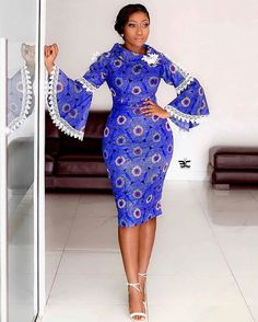 Lovely Gown Styles for the Modern Day Ladies: Nice Trendy Styles for 2020 - African Fashion Styles African Fashion Ankara, African Inspired Fashion, Latest African Fashion Dresses, African Print Fashion, Africa Fashion, Nigerian Fashion, Ghanaian Fashion, African Style, African Beauty