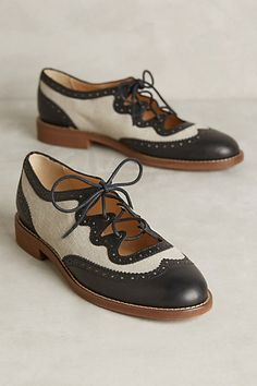 Miss Albright Curricula Cutout Oxfords #anthropologie I am starting to get a genuine shoe obsession.
