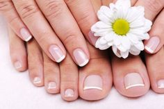Clean simple nails