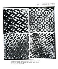 Mosaic Knitting Barbara G. Walker (Lenivii gakkard) Mosaic Knitting Barbara G. Walker (Lenivii gakkard) #35