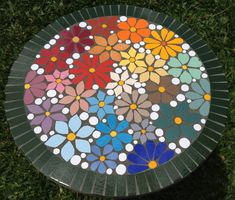 Mosaic Birdbath, Mosaic Garden Art, Mosaic Tile Art, Mosaic Vase, Mosaic Birds, Mosaic Artwork, Mosaic Flowers, Mosaic Crafts, Mosaic Projects