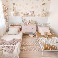 Big Girl Bedrooms, Little Girl Rooms, Girls Bedroom, Girl Toddler Bedroom, Ikea Childrens Bedroom, Ikea Girls Room, Childs Bedroom, Bedroom Desk, Child Room