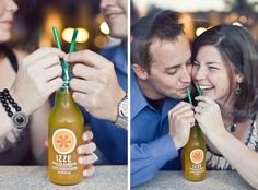 Soda or a milk shake? Find an icecream pallor and feed eachother ice cream! Idea's for Sundays Engagement photo shoot...