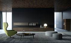 Stripe collection in eucalyptus designed by Pierangelo Sciuto for EmmeBi #Emmebi #Emmebidesign #livingroom #design #interiuordesign