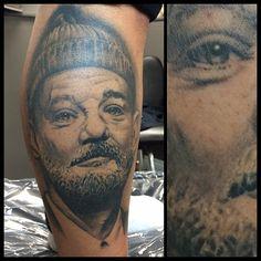 Got a fully healed picture of Bill Murray #tattoo #blackandgrey #blackandgreytattoo #billmurray #billmurraytattoo #blackclaw #blackclawneedle #blackclawneedles #ldnont #londonontario #londonontariotattoo #forestcitytattoo #richmondrow #western #westernuniversity #uwo #fanshawe #fanshawecollege #art #healedtattoo