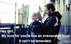 Law School Ryan Gosling things-that-make-me-laugh Ryan Gosling, Law School Memes, Lawyer Humor, Legal Humor, Hey Girl, Student Life, Laughter, Girls, My Love