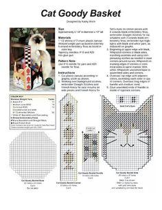 Cat goody basket
