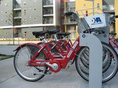 Bike Rental Stand Denver, Colorado