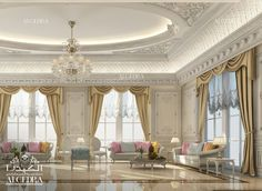 Explore our Majlis interior designs here. Our expert designers from different nationalities and backgrounds give great Arabic Majlis designs in traditional styles Interior Design Dubai, Modern Home Interior Design, Interior Design Photos, Residential Interior Design, Luxury Home Decor, Interior Design Services, Luxury Homes, Luxury Mansions, Classic Interior