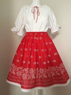 Waist Skirt, High Waisted Skirt, Folklore, Casual, Skirts, Clothing, Fashion, Outfits, Moda