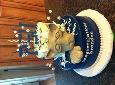 Off to penn state graduation cake